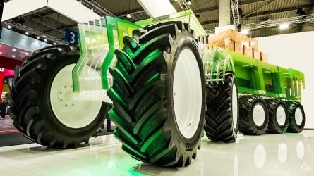 BKT gumiabroncsok az Agritechnicán