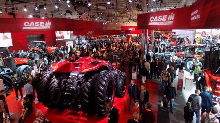 Case IH újdonságok az Agritechnicán